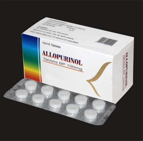 Allopurinol Tablets 100 mg photo