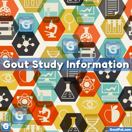 Gout Study Infographic