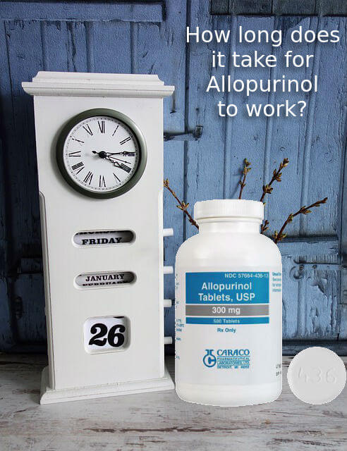How long does it take for Allopurinol to work photo
